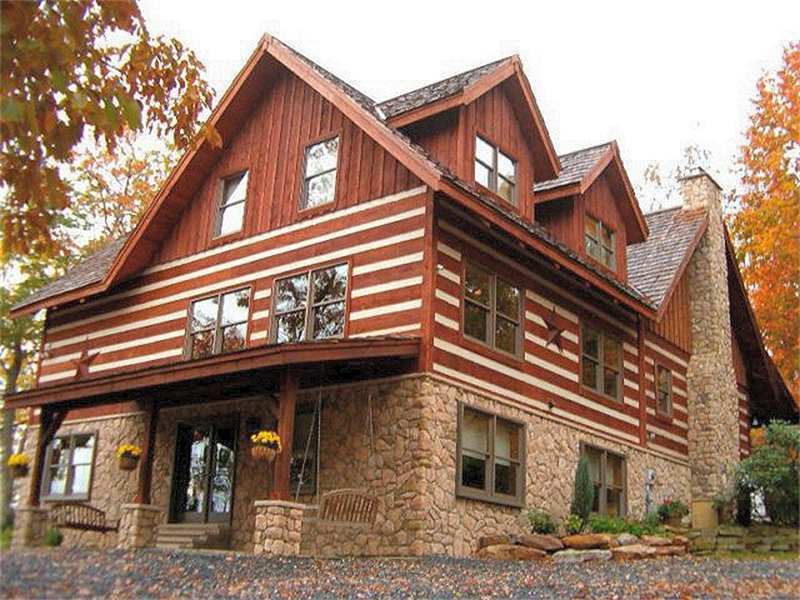 Log Home Builder Lehigh Valley Poconos PA Log Home Additions And Remodeling T