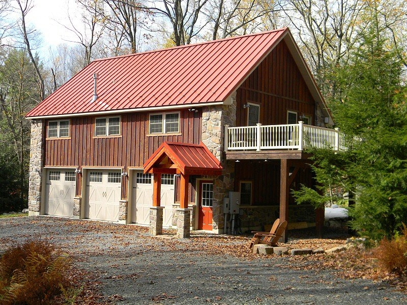 Custom Built Home Over Garage - Poconos PA., Lehigh Valley, Northeast PA.