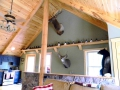 Timber Frame Home Interior Building Construction Serving Lehigh Valley, Poconos, PA.