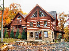 Log Home Renovations And Additions Serving Eastern Pa.,Lehigh Valley, Poconos, Lehigh County, Monroe County, Northampton County